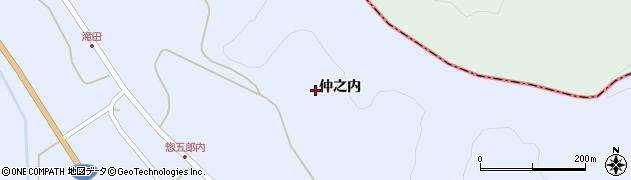福島県天栄村(岩瀬郡)牧之内(仲之内)周辺の地図
