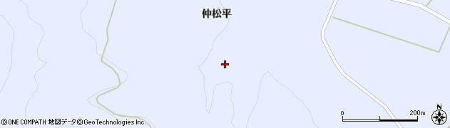 福島県天栄村(岩瀬郡)牧之内(供達場)周辺の地図