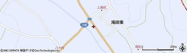 福島県天栄村(岩瀬郡)牧之内(川向)周辺の地図