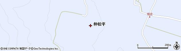 福島県天栄村(岩瀬郡)牧之内(龍生)周辺の地図