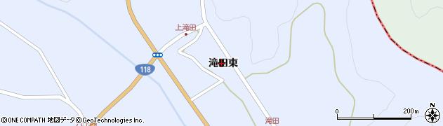 福島県天栄村(岩瀬郡)牧之内(滝田東)周辺の地図