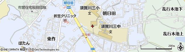 須賀川市立 ぼたん児童クラブ周辺の地図