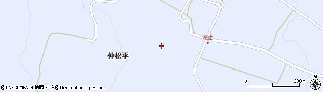 福島県天栄村(岩瀬郡)牧之内(和尚壇)周辺の地図