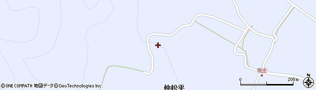 福島県天栄村(岩瀬郡)牧之内(金ゴ山)周辺の地図