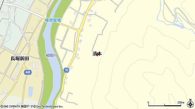〒946-0107 新潟県魚沼市長堀新田の地図