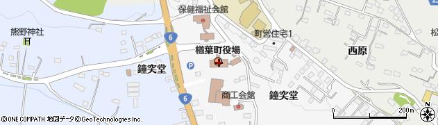 福島県双葉郡楢葉町周辺の地図