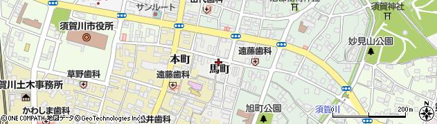 レッツ倶楽部 須賀川周辺の地図