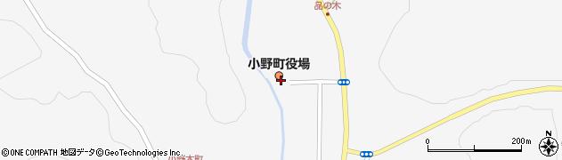 福島県田村郡小野町周辺の地図