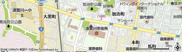 須賀川市役所 観光交流課交流推進係周辺の地図