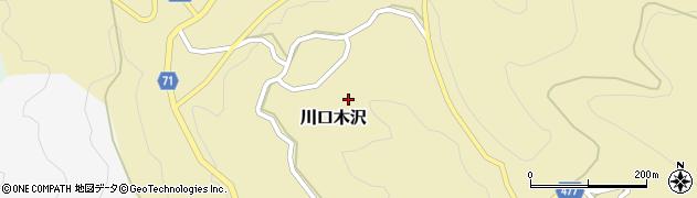 新潟県長岡市川口木沢周辺の地図
