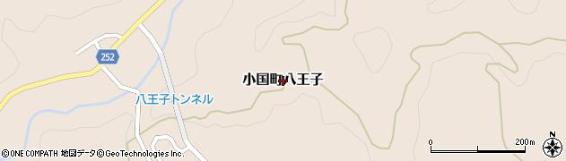 新潟県長岡市小国町八王子周辺の地図