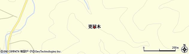 福島県天栄村(岩瀬郡)田良尾(更目木)周辺の地図