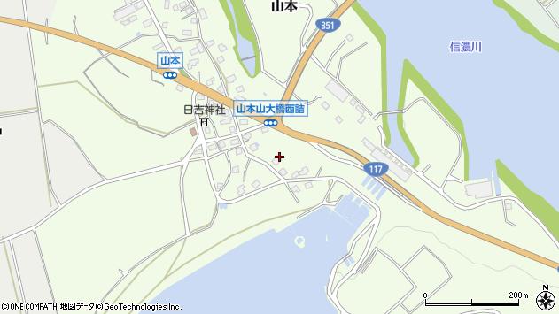 〒947-0012 新潟県小千谷市山本の地図