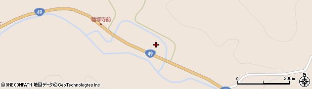 福島県郡山市田村町糠塚(池尻)周辺の地図