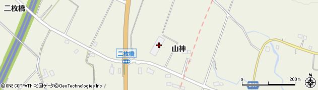 シオヤ産業株式会社 相双地区物流センター周辺の地図