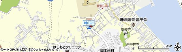 崎山口周辺の地図