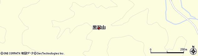 福島県天栄村(岩瀬郡)田良尾(黒沢山)周辺の地図