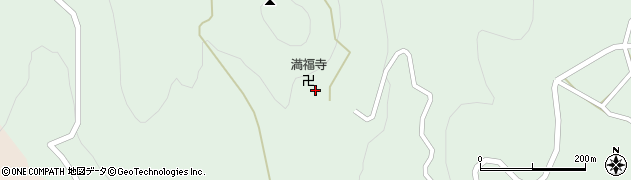 東堂山満福寺周辺の地図