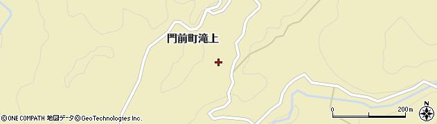 石川県輪島市門前町滝上(ヘ)周辺の地図