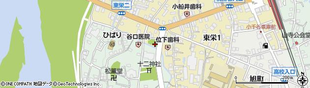 表沢川周辺の地図