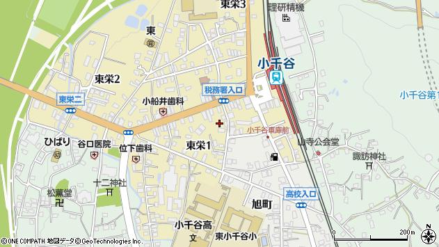 〒947-0004 新潟県小千谷市東栄の地図