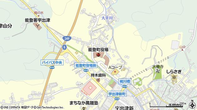 〒927-0400 石川県鳳珠郡能登町(以下に掲載がない場合)の地図