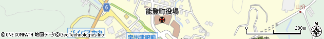 石川県鳳珠郡能登町周辺の地図