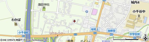 新潟県小千谷市桜町周辺の地図