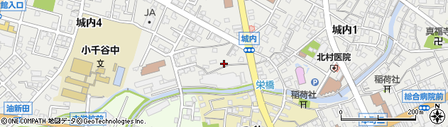 越後おぢや農協本店周辺の地図