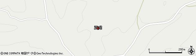 福島県郡山市田村町田母神(黒甫)周辺の地図