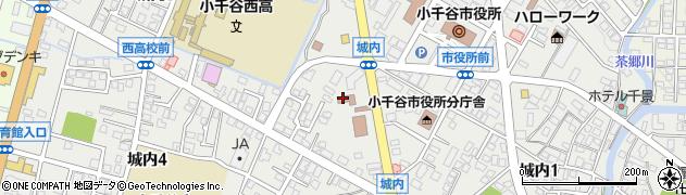 新潟県小千谷市城内周辺の地図