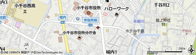 羽鳥美容室周辺の地図