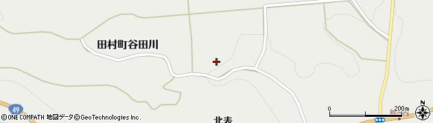 福島県郡山市田村町谷田川(箱屋)周辺の地図