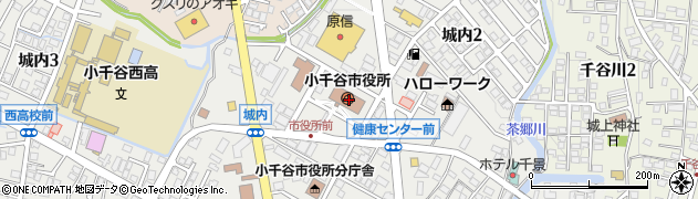 新潟県小千谷市周辺の地図