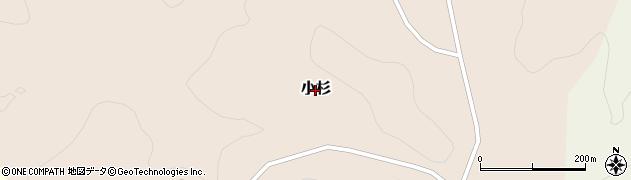 新潟県柏崎市小杉周辺の地図
