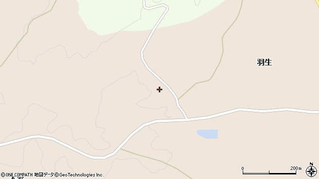 〒927-0555 石川県鳳珠郡能登町羽生ろの地図