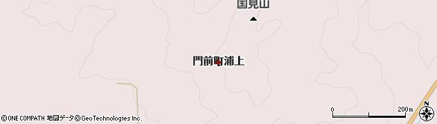 石川県輪島市門前町浦上周辺の地図