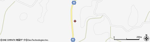 福島県郡山市田村町栃山神(西)周辺の地図