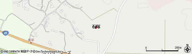 福島県郡山市田村町谷田川(石塚)周辺の地図
