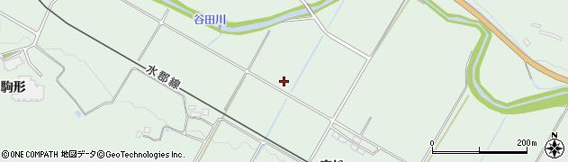 福島県郡山市田村町岩作(左木丁)周辺の地図