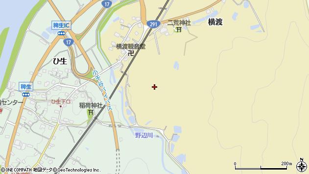 〒947-0002 新潟県小千谷市横渡の地図