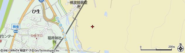 新潟県小千谷市横渡周辺の地図