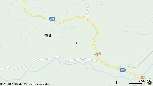 〒927-0454 石川県鳳珠郡能登町曽又の地図
