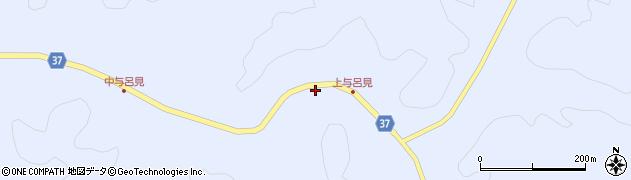 石川県輪島市三井町(与呂見奈)周辺の地図