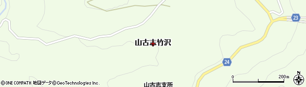 新潟県長岡市山古志竹沢周辺の地図