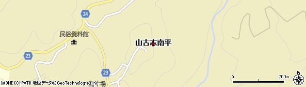 新潟県長岡市山古志南平周辺の地図