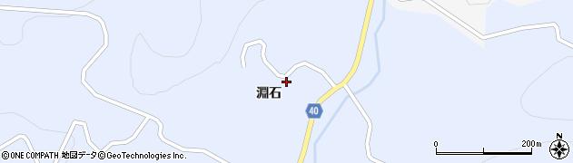 福島県郡山市田村町川曲(淵石)周辺の地図