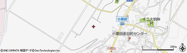 新潟県小千谷市小粟田周辺の地図