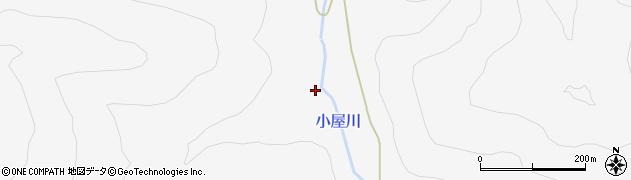 福島県郡山市湖南町三代(黒塚)周辺の地図