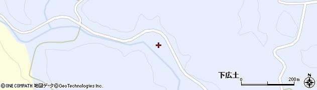 福島県郡山市田村町川曲(曲田)周辺の地図